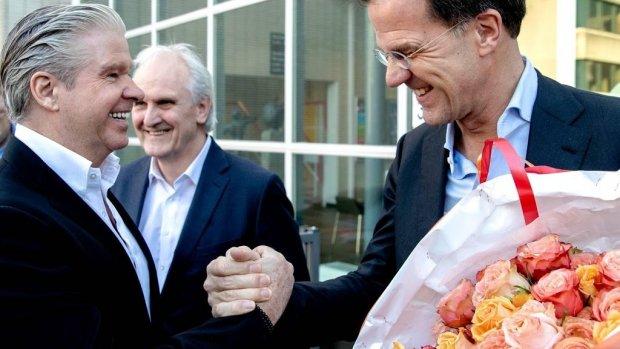 Dries Roelvink laat onuitwisbare indruk achter bij Mark Rutte