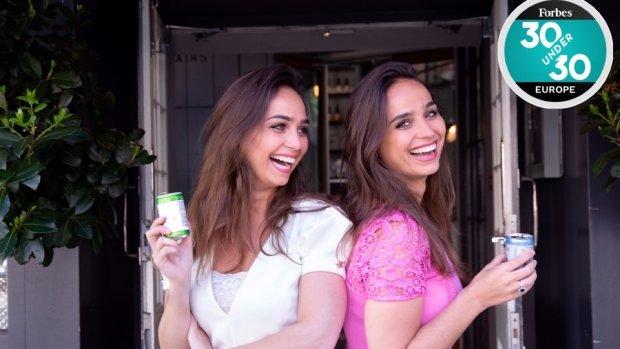 Nederlandse zussen bestormen Forbeslijst met luxe frisdrank