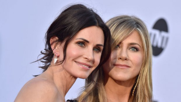 Friends-actrices maken noodlanding