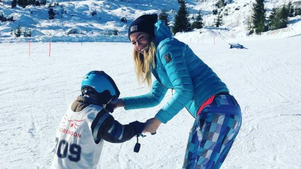 Nicolette Kluijver apetrots op zoontje Jesse