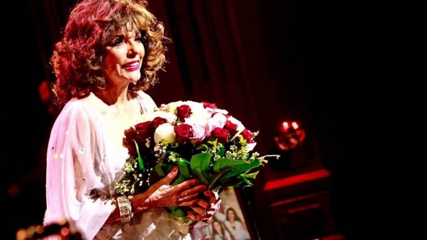 'Joan Collins in gesprek over biopic'