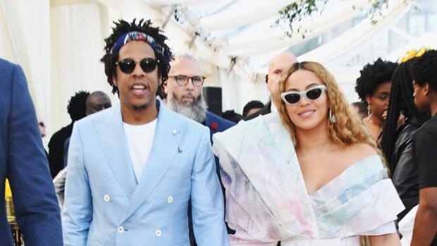 Beyoncé en Jay Z toveren Meghan Markle om tot echte koningin