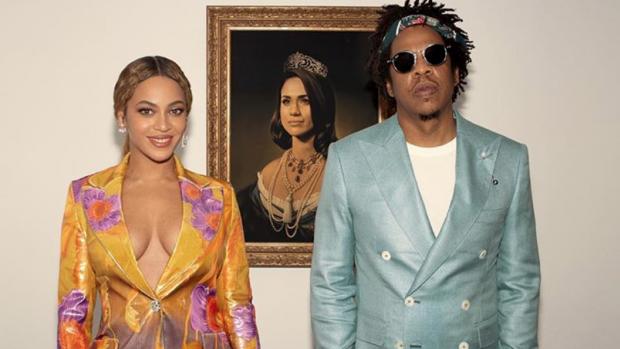 Beyonce en Jay-Z gebruiken Meghan-doek zonder toestemming