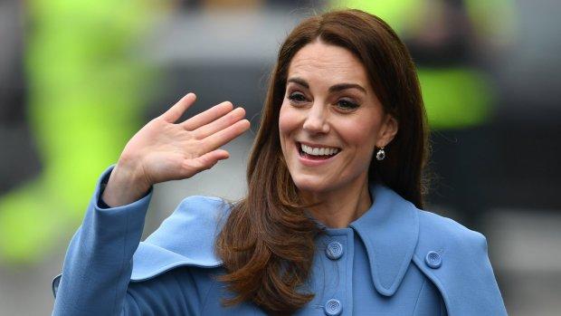 Zo gewoon is Kate Middleton gebleven