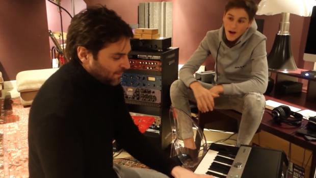 Xander en Sem brengen eerste vader-zoon-videoclip uit