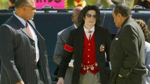 Fans Michael Jackson protesteren in Londen