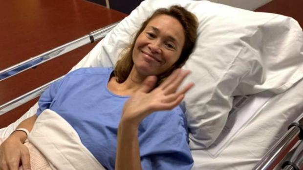 Snowboardster Bibian Mentel geopereerd aan tumor