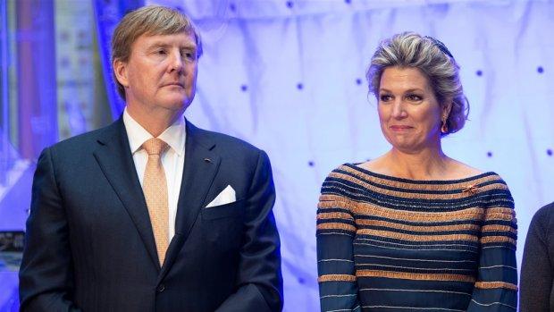 Koningspaar over schietpartij: 'Het doet ons groot verdriet'