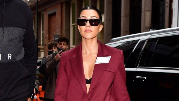 Ai! Kourtney Kardashian maakt giga photoshop-blunder