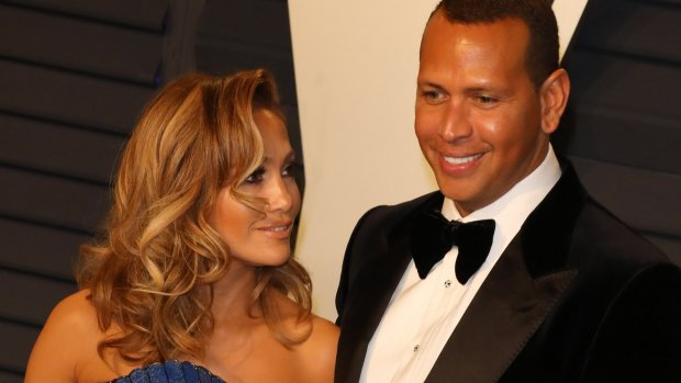 Jennifer Lopez en Alex Rodriguez laten elkaar nooit meer los