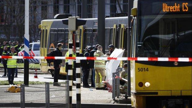 Politie zoekt videobeelden van vluchtroute aanslag Utrecht