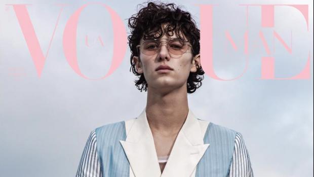 Deense prins Nikolai schittert op de cover van Vogue