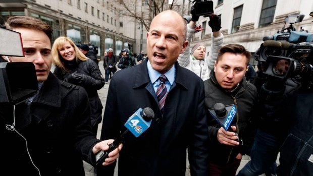 Ex-advocaat Stormy Daniels zou Nike hebben afgeperst