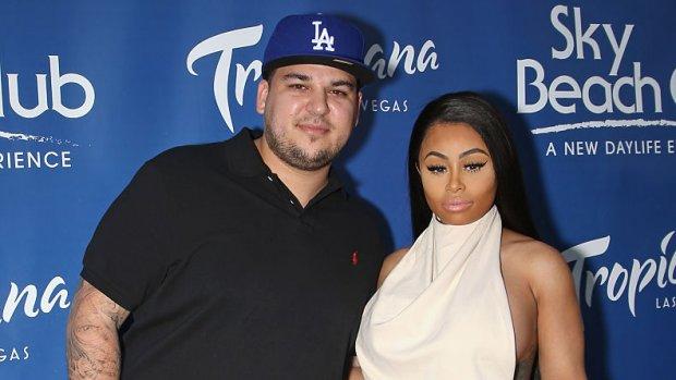 Rob Kardashian en Blac Chyna komen tot voogdij-akkoord