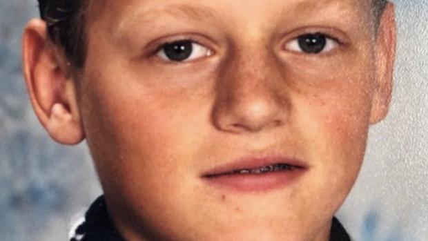 Zo zag Kaj Gorgels eruit in zijn puberteit
