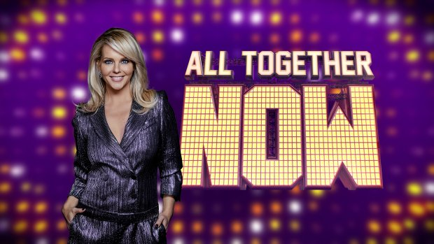 Henk Westbroek en Dionne Slagter in All Together Now