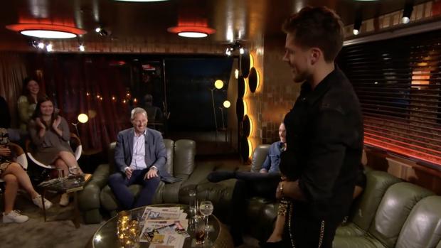 André Hazes laat broek zakken op Vlaamse tv