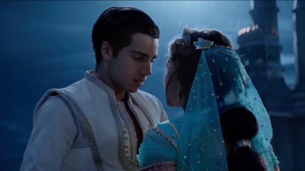 Disney onthult eerste kus Aladdin en Jasmine in nieuwe trailer