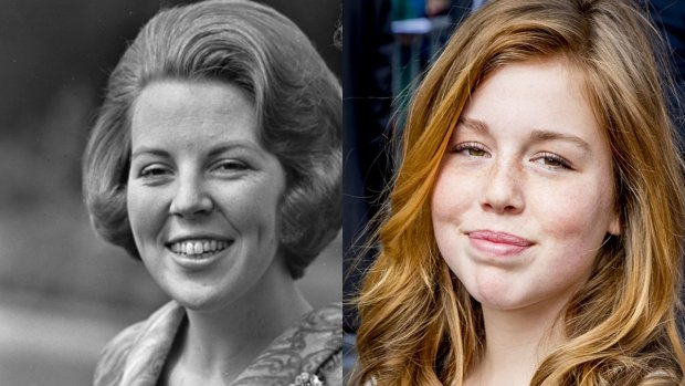 Wauw! Prinses Alexia lijkt als twee druppels water op haar oma