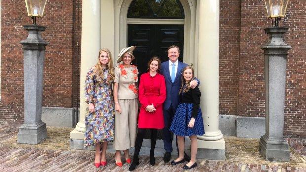 Koninklijke familie klaar voor Koningsdag