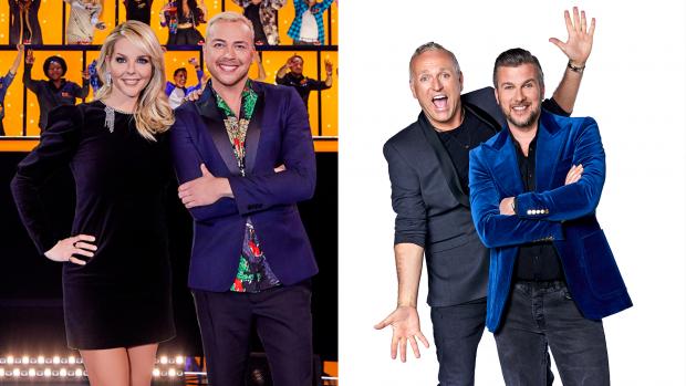 Wie wint de 'zangshowoorlog' op de vrijdagavond?