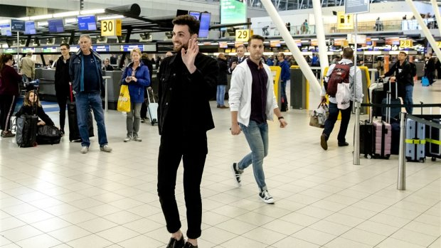 Duncan wil Nederland trots maken: 'Ik ga heel erg m'n best doen'