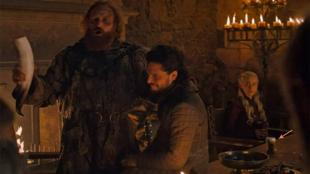 HBO grapt over koffiebeker in Game of Thrones