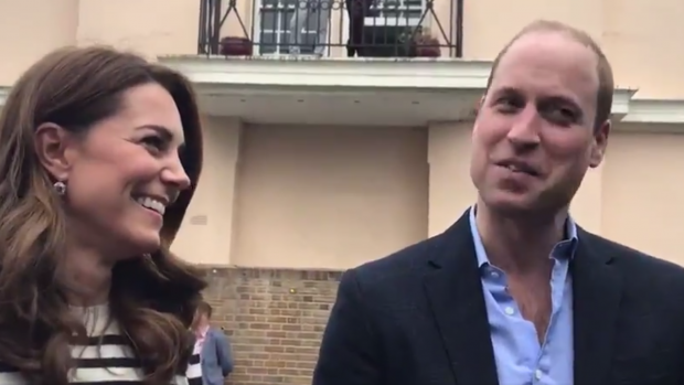 William en Kate wensen kersverse vader Harry het allerbeste
