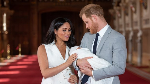 Prins Harry hintte maanden geleden op naam Archie