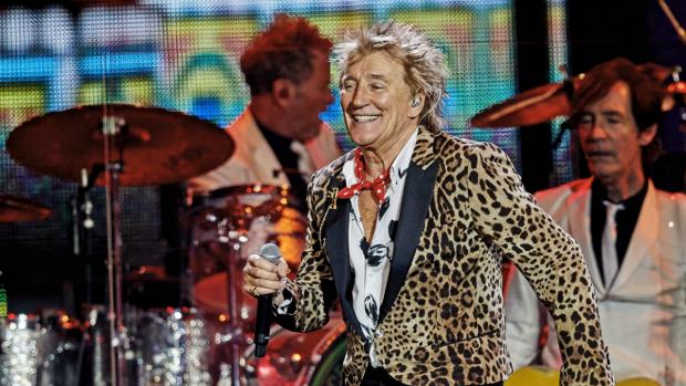 Levende legende Rod Stewart rockt Ziggo Dome