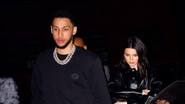 'Kendall Jenner en Ben Simmons niet langer meer een item'