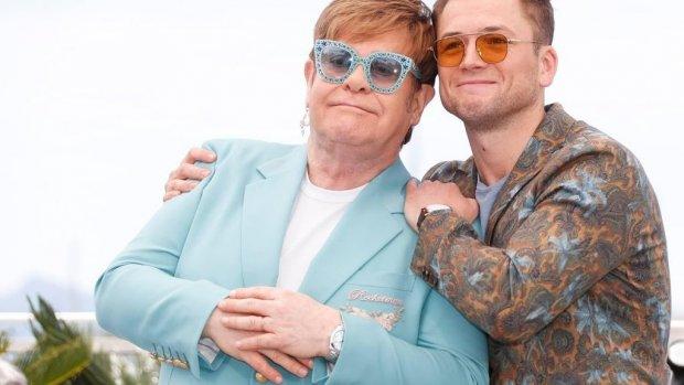 Elton John liet Taron Egerton dagboeken lezen