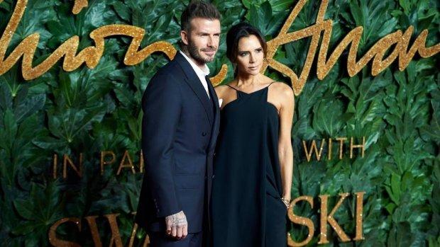 Familie Beckham zet bloemetjes buiten in Miami