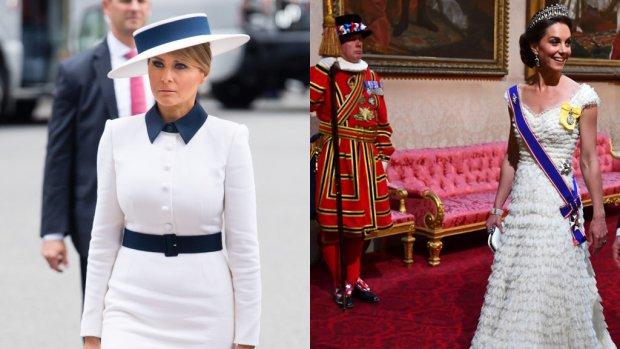 Kate én Melania brengen ode aan prinses Diana