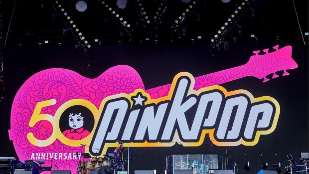 Eerste dag Pinkpop: 'Om door een ringetje te halen'