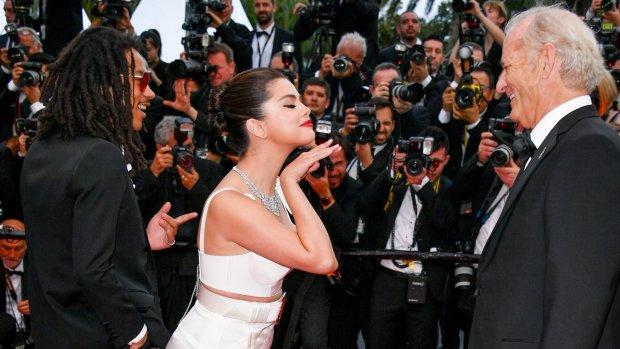 Bill Murray loopt weg met Selena Gomez