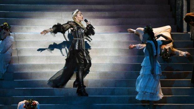 Madonna volgend jaar niet te zien op songfestival