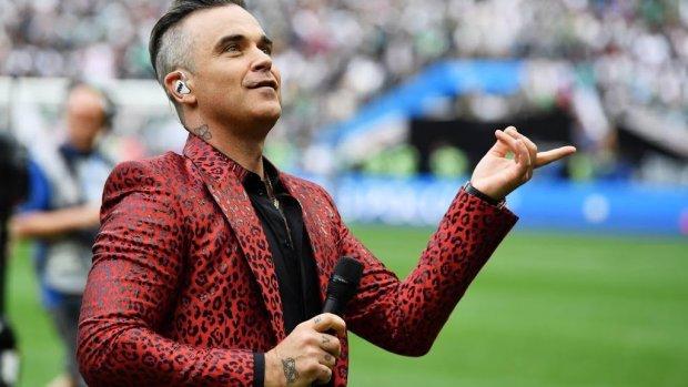 Leven van Robbie Williams veranderd door kinderen