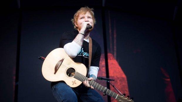 Ed Sheeran zoekt nieuw talent voor voorprogramma