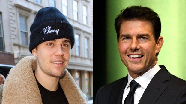 Justin Bieber daagt Tom Cruise uit