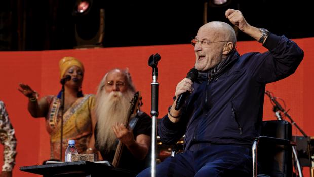 Fotoverslag: Phil Collins live in Goffertpark Nijmegen