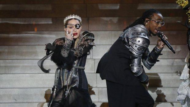Madonna weet nog steeds te scoren