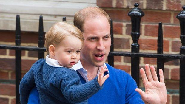Lerares prins George verloofd met beste vriend prins William