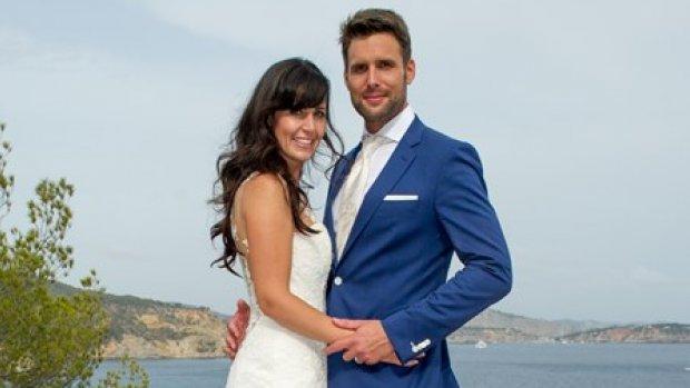 Kirsten viert drie jaar huwelijk met Nick Schilder