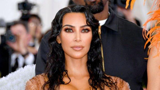Fans van streek om Kim Kardashian's lichaamsmake-up