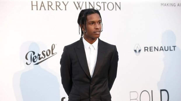 A$AP Rocky landt in Amerika na vrijlating