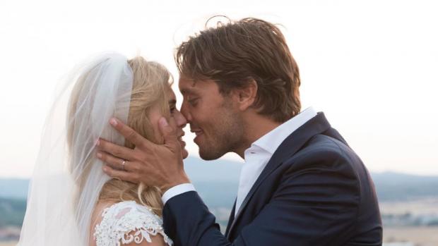 Bas Smit en Nicolette van Dam alweer vier jaar getrouwd