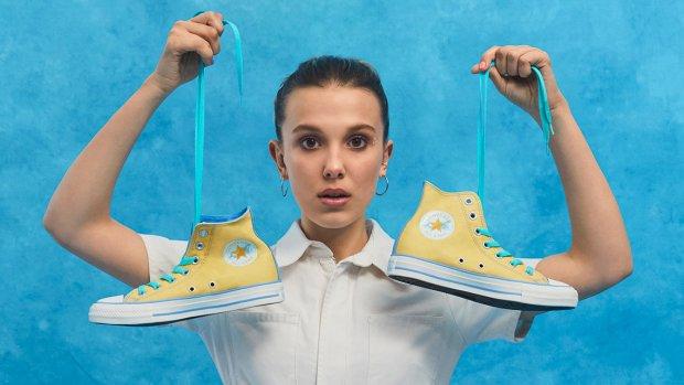 Millie Bobby Brown lanceert lijn voor Converse