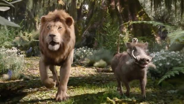 Nieuwe clip The Lion King brengt Hakuna Matata tot leven