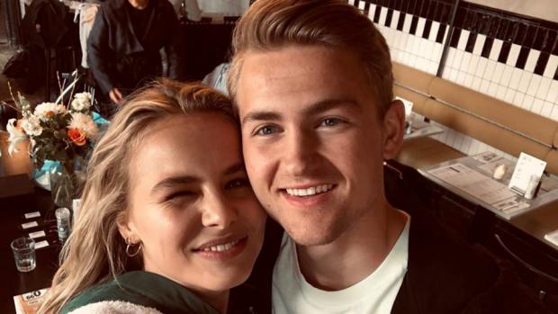 Te lief: Matthijs de Ligt en vriendin doen relatietest